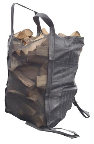 Les big-bags forestiers sont des solutions idéales pour optimiser la logistique du bois de chauffage