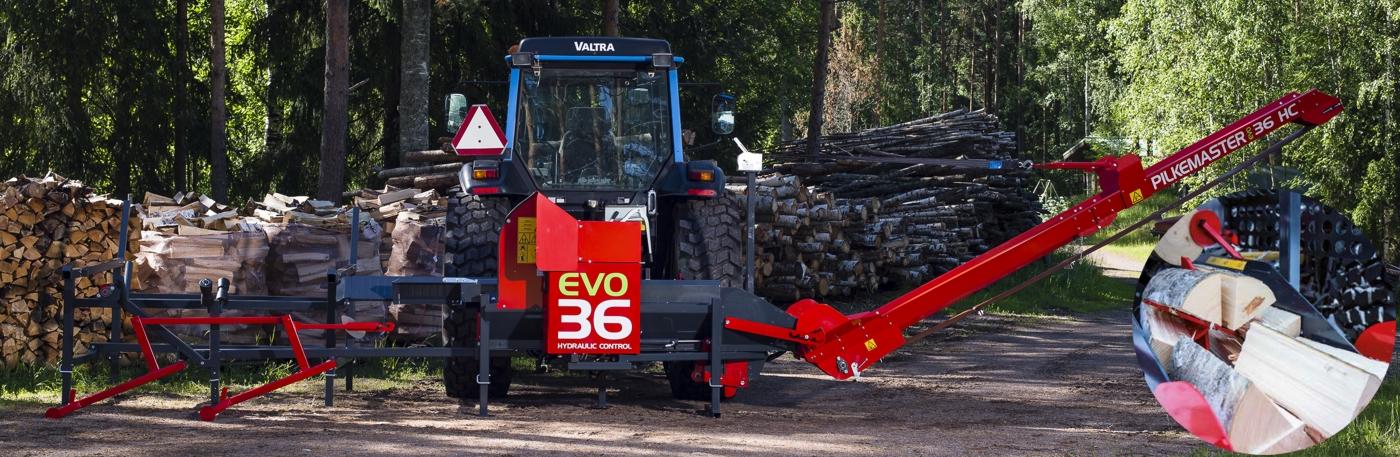 Processeur à bois de chauffage Pilkemaster EVO