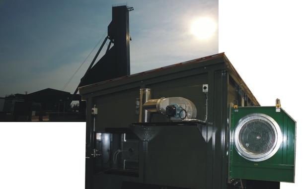 Système biomasse containérisée chauffant une mine d'or
