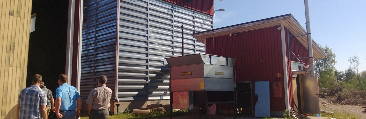Biomass hot air generator solutions can deliver large amounts of hot air for drying applications