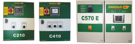 Säätötuli C210, C410 and C570E automation boxes can all be used with Hydrobar.