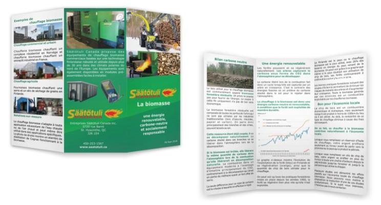 Brochure sur le chauffage biomasse, une énergie renouvelable