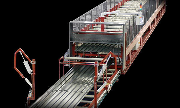 Doulble-deck: produce two profiles on a single roll-forming machine