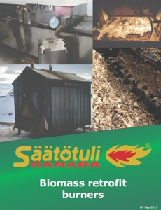 Download the brochure about retrofit biomass burners
