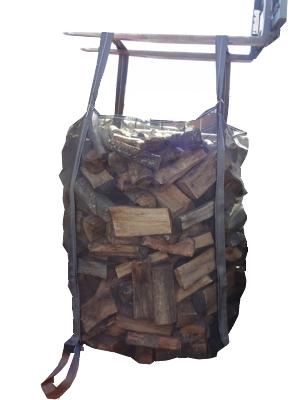 Le big-bag est facile à lever avec ses deux grandes anses