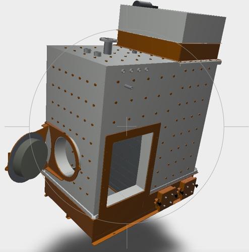 Säätötuli hot water biomass boiler
