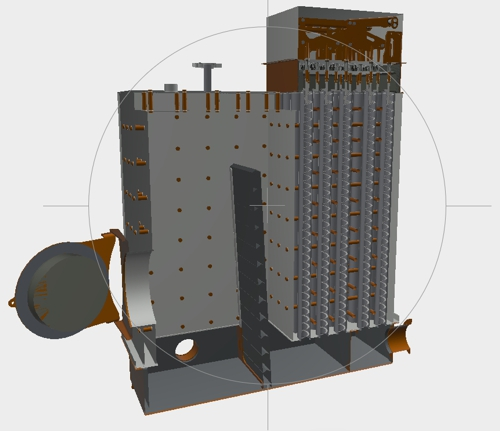 Hydronic biomass heating with Säätötuli hot water biomass boiler