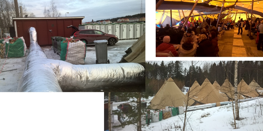 Heating up the Nordic Ski World Championship in Finland with pellets