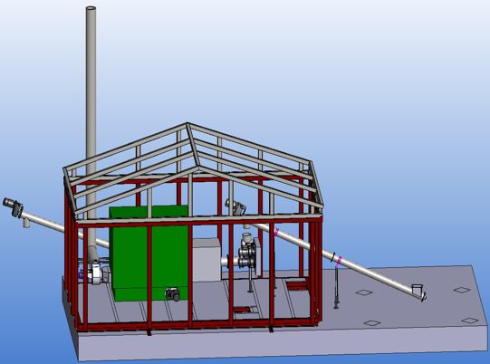 Boilercont Export - A versatile containerised biomass heating plant