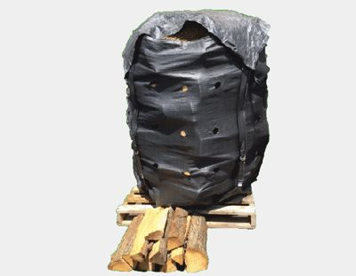 Improve your firewood logistics with big-bags