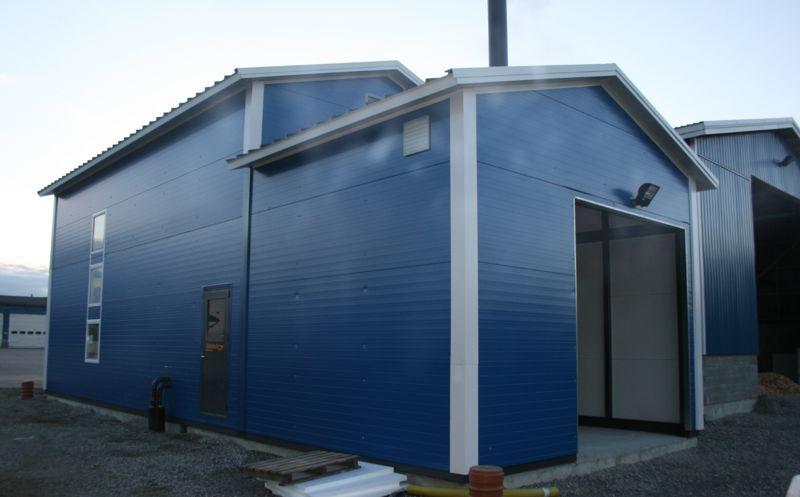 Biocont MultiJumbo equipped for municipal district heating