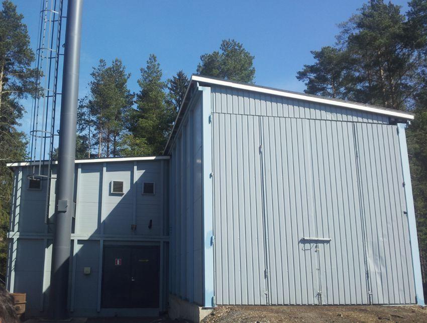 Chaufferie Biocont MultiJumbo prête à fournir le réseau de chauffage urbain