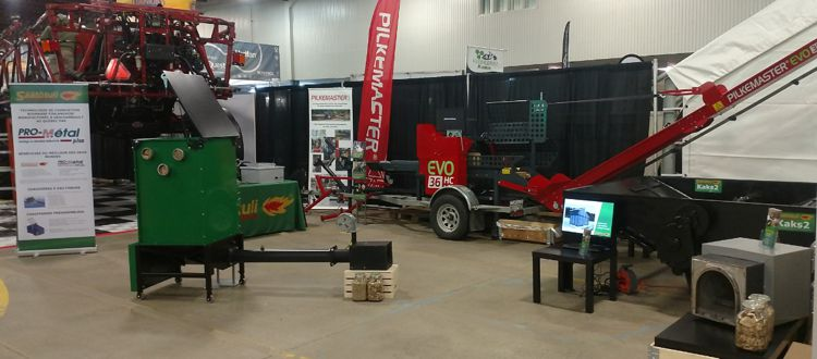 Want to replace propane by biomass ? Meet us at the Salon de l'Agriculture 2020 in St. Hyacinthe.