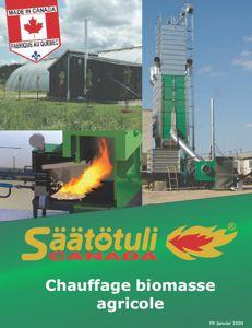 Chauffage biomasse agricole