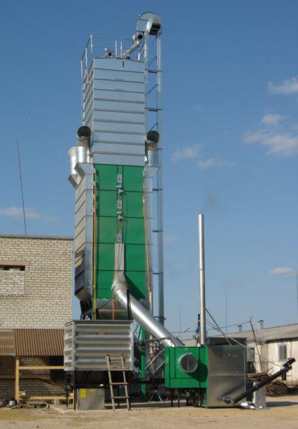 Système de séchage de grain fonctionnant à la biomasse