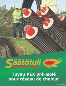 Brochure tuyau PEX pré-isolé