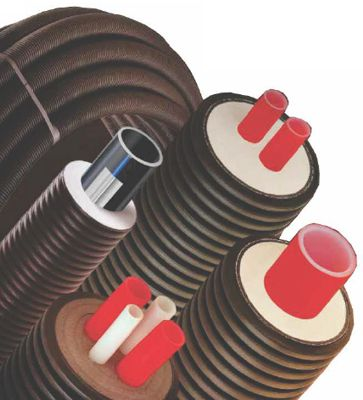 Pre-insulated PEX Piping for heat networks and district heating
