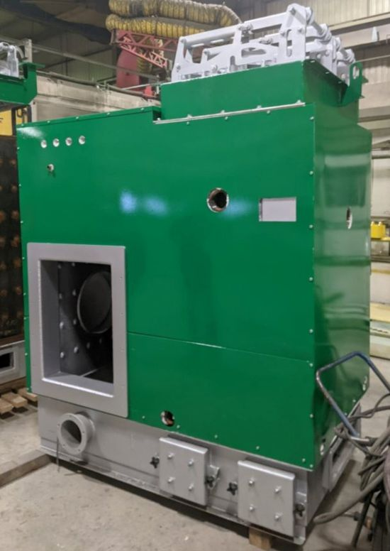 First series of Säätötuli hydronic biomass boilers made in Canada